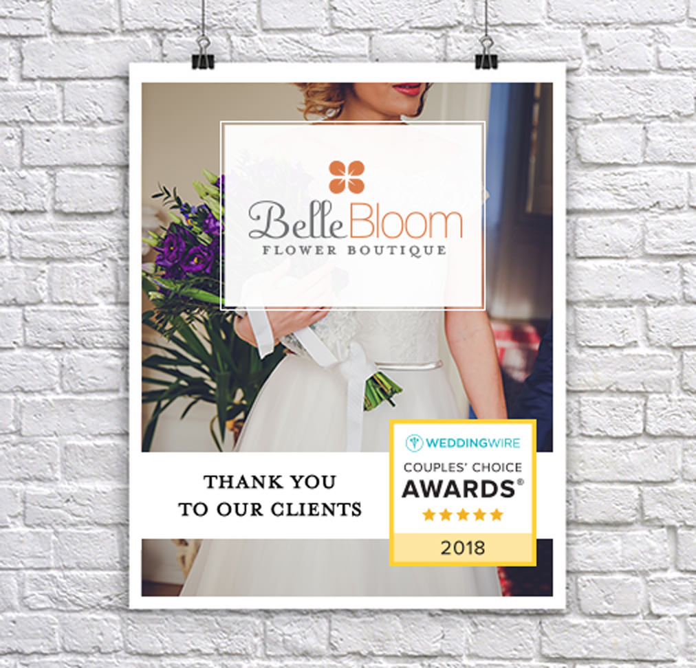 Poster for Belle Bloom featuring the Couples' Choice Award