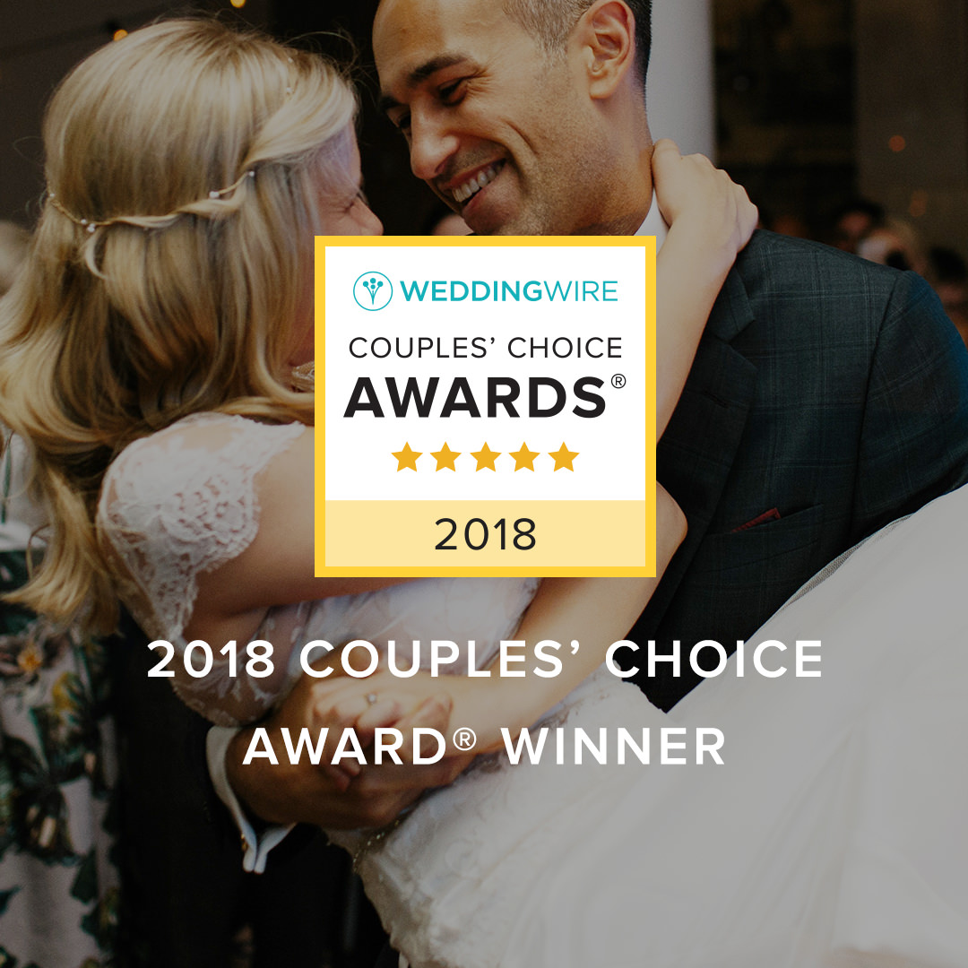 Instagram share image that says '2018 Couples' Choice Award Winner' over a happy couple