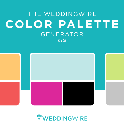 Weddingwire color palette generator weddingwire junglespirit
