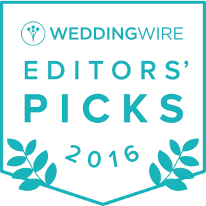 WeddingWire Editors' Picks 2016