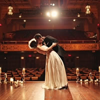 Preview of theaters and music-themed wedding venues