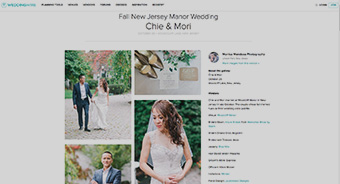 Thumbnail for a preview of what a feature on WeddingWire looks like